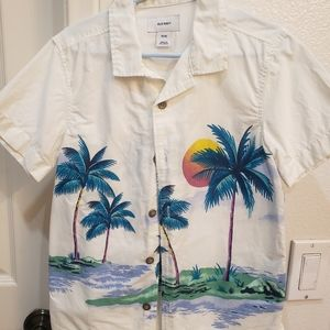 Boys Island button up shirt